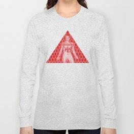 Red ESOTERIC JOCKSTRAP BOY - Gay Culture Gay Art Masonic Symbolism Long Sleeve T-shirt