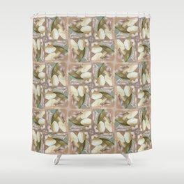 Paul Nash Magnolia Shower Curtain