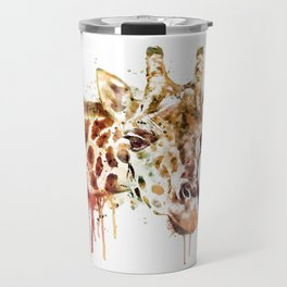 Giraffe Head Travel Mug