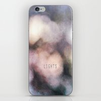 the lights iPhone & iPod Skins featuring LIGHTS by MadiS