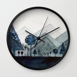 Grad Landscape Wall Clock