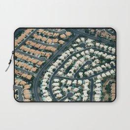 ARCH ABSTRACT 18: Urban sprawl #2, Las Vegas Laptop Sleeve