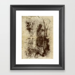 paleo warrior Framed Art Print