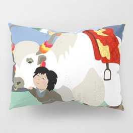 A child and his best friend Pillow Sham