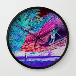 Conversation with Nature Wall Clock