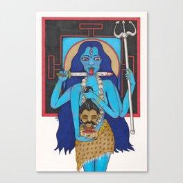 Goddess Kali Canvas Print
