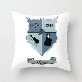 Sherlock Coat of Arms Throw Pillow