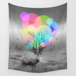 Calm Within the Chaos Wall Tapestry