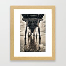 Ocean City Pier Framed Art Print