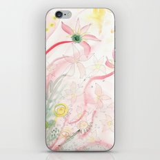 Summer flower meadow iPhone & iPod Skin