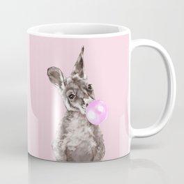 Bubble Gum Baby Kangaroo Coffee Mug