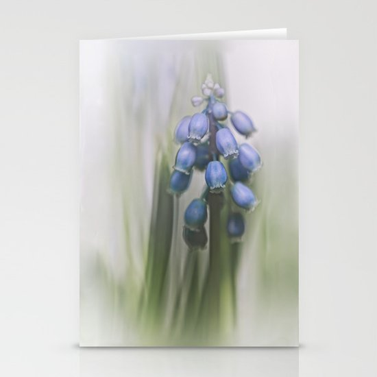 Grape Hyacinth VII Stationery Cards