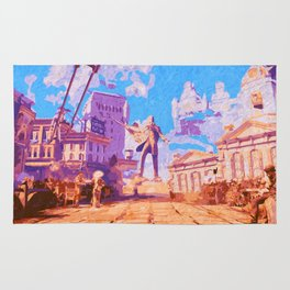 Columbia - The City in the Sky Rug