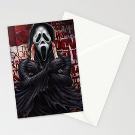 What's your favorite scary movie? Stationery Cards