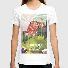 Forth Bridge, Firth of Forth,Scotland T-shirt