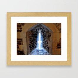 Inside the Tower of London Framed Art Print