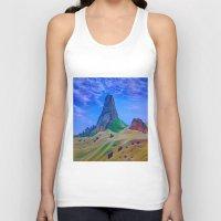 mountain Tank Tops featuring Mountain by ArtSchool
