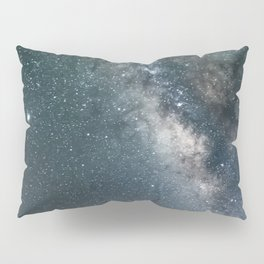Stunning Milky Way By The Lake Pillow Sham