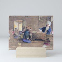 12,000pixel-500dpi - Arab School - John Frederick Lewis Mini Art Print
