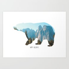 Happy Holidays! Art Print