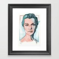 rachel weisz Framed Art Print