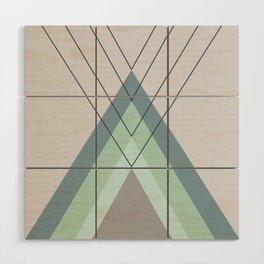Iglu Mint Wood Wall Art