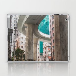 Hong Kong Street Bridge Laptop & iPad Skin