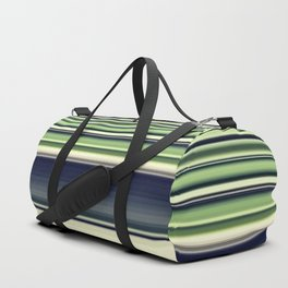 Green Needlework Duffle Bag