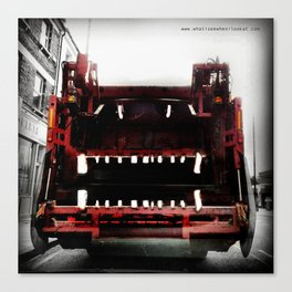 Monster truck Canvas Print