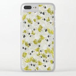 Cockatoos by Veronique de Jong Clear iPhone Case