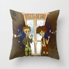 Bill & Ted's Excellent Adventure (1989) Throw Pillow