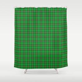 Maasai Shuka - Green & Yellow Shower Curtain