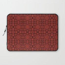 Aurora Red Geometric Laptop Sleeve