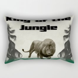 The King of The Jungle Rectangular Pillow