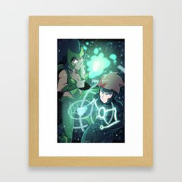 Polaris Cosplay Framed Art Print