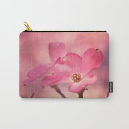 Colors of Spring: Pink Dogwood Carry-All Pouch