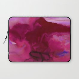 Vellum Watercolor Bliss 2J by Kathy Morton Stanion Laptop Sleeve