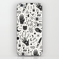 witchcraft iPhone & iPod Skins featuring Witchcraft II by LordofMasks