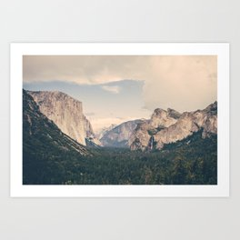 An Afternoon in Yosemite Art Print