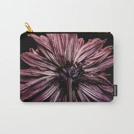 Dark Chrysanthemum Carry-All Pouch