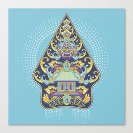 Wayang Barong Canvas Print