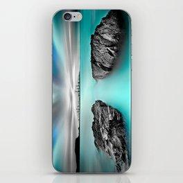 Quantum Divide iPhone Skin