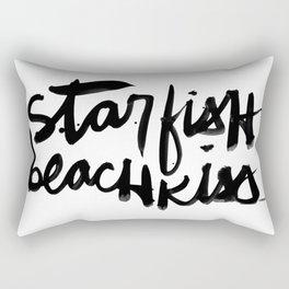 Starfish Beachkiss Rectangular Pillow