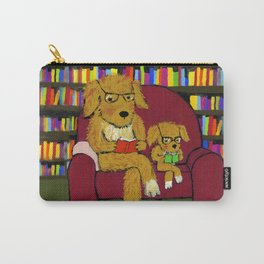 Reading dogs Carry-All Pouch
