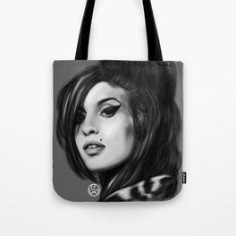 """Back to Black"" AmyWinehouse Tote Bag"