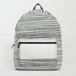 Water -minimalist line drawing Backpack