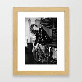 Smooth Confess Framed Art Print