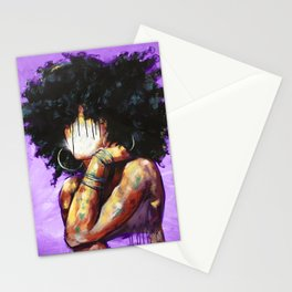 Naturally II PURPLE Stationery Cards