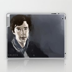 Believe in Sherlock Laptop & iPad Skin
