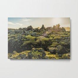 Lava Field V Metal Print